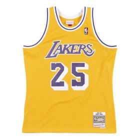 SMJYGS18441-LALLTGD94EJN_Maillot NBA swingman Eddie Jones Los Angeles Lakers 1994-95 Hardwood Classics Mitchell & ness jaune