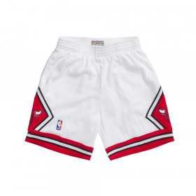 SMSHCP18151_Short NBA Chicago Bulls 1997-98 Mitchell & Ness Swingman Blanc pour Homme
