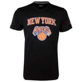 11546144_T-Shirt NBA New York Knicks New Era team logo Noir pour Homme
