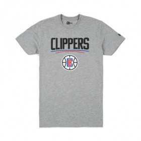 11546149_T-Shirt NBA Los Angeles Clippers New Era Team logo Gris pour Homme