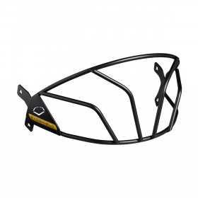 WTV7320BLLG_Grille pour casque de baseball Evoshield XVT Noir