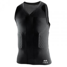 Mcdavid V neck Sleeveless Hexpad Shirt