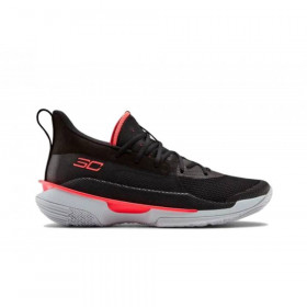 "3021258-001_Chaussure de Basketball Under Armour Curry 7 ""focus"" Noir Pour Homme"