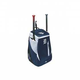 WTL9302TCDET_Sac à Dos MLB Detroit Tigers Louisville Slugger Genuine Stick pack Bleu marine