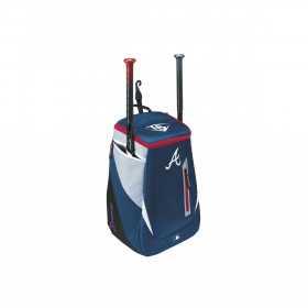 WTL9302TCATL_Sac à Dos MLB Atlanta Braves Louisville Slugger Genuine Stick pack Bleu marine