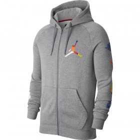 Men's Jordan DNA Hoodie Jacket Grey