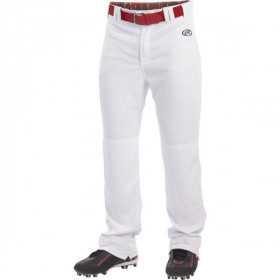LNCHSR-W_Pantalon De Baseball Rawlings Long Blanc Pour Homme
