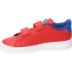 """Chaussure adidas Advantage I """"Spiderman"""" rouge pour bébé"""