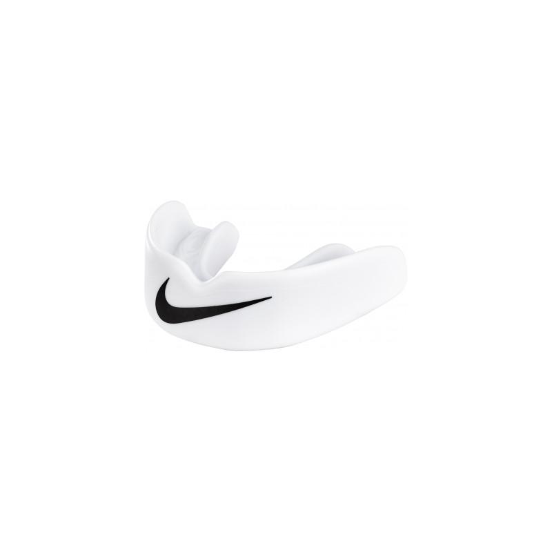 NUU57-101_Protège dent Nike Hyperlow Adulte Blanc sans strap