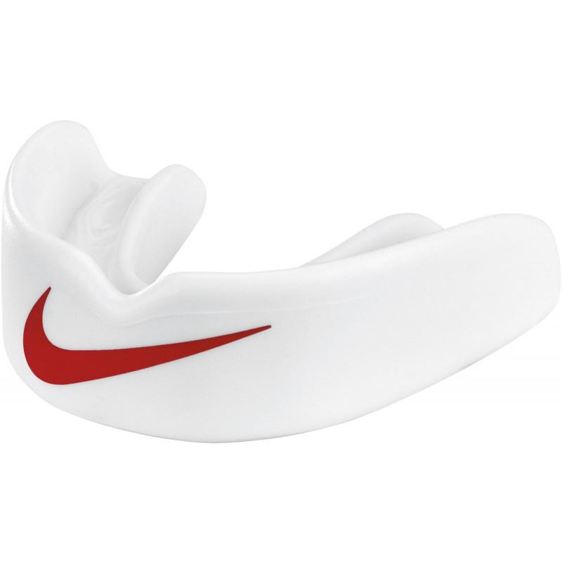 NUU57-106_Protège dent Nike Hyperlow Adulte Blanc RED sans strap