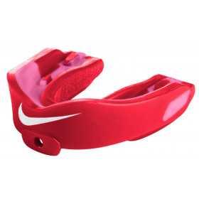 NUU36-693_Protège dent Nike Hyperstrong Adulte rouge avec strap Goût fraise