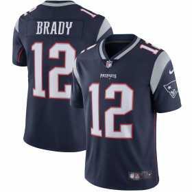 EZ1B7V1P9-PAT_Maillot NFL Tom Brady New England Patriots Nike Player Limité pour Junior Bleu Marine