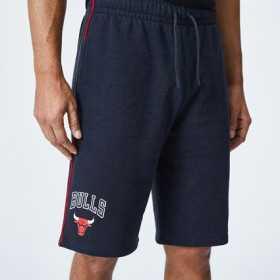 12195372_Short NBA Chicago Bulls New Era Piping Noir pour homme