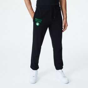 Pantalone New Era Piping Jogger NBA Boston Celtics negro para hombre
