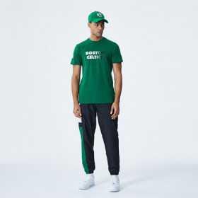 12195387_T-Shirt NBA Boston Celtics New Era Gradient Wordmark Vert pour Homme