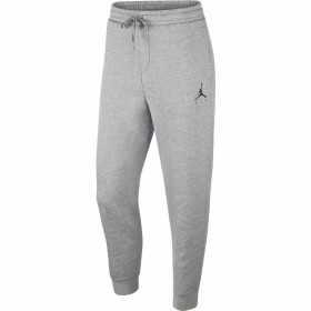 940172-092_Pantalon Jordan Jumpman Fleece gris Logo BLK pour homme