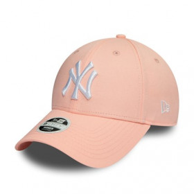 New Era League Essential 9Forty hat MLB New York Yankees pink PLM
