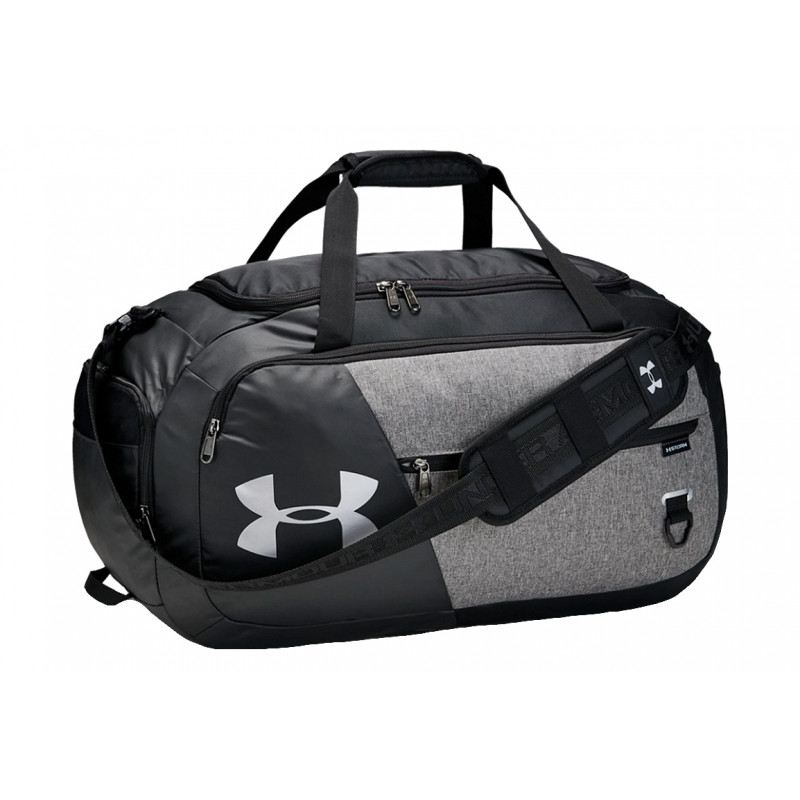 1342657-040_Sac de sport Under Armour undeniable Duffle 4.0 Medium Gris