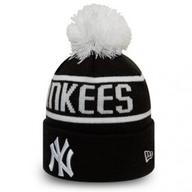 12145424_Bonnet MLB New York Yankees New Era Bobble Noir pour enfant