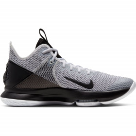 BV7427-101_Chaussure de Basketball Nike LeBron Witness 4 Blanc pour homme