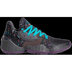 """EF9924_Chaussure de Basketball adidas James Harden Vol.4 """"Amber Tint"""" Bleu pour homme"""