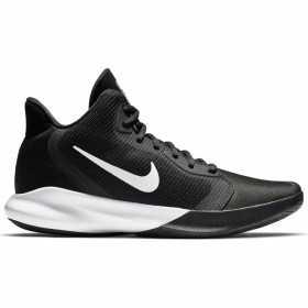 AQ7495-002_Chaussure de Basketball Nike Precision III Noir pour junior