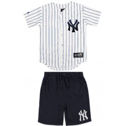 Majestic Kids jersey+Short Yankees Enfant