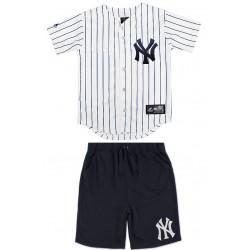Majestic Kids jersey+Short Yankees Enfant