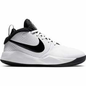 AQ4224-100_Chaussure de Basketball Nike Team Hustle D 9 Blanc pour junior
