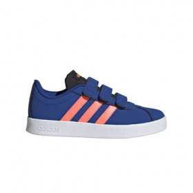 EG3883_Chaussure adidas VL Court 2.0 CM Bleu Pour junior