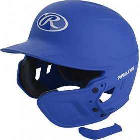MEXTL-R7_Protection joue pour casque de Baseball Rawlings Bleu royal