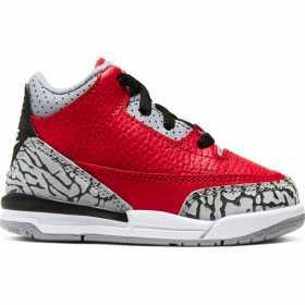 "Baby's Jordan 3 Retro ""Unite"" Fire Red (TD)"