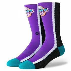 M545B19JAZ_Chaussettes NBA Utah Jazz Stance Arena HWC Warmup Violet