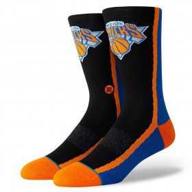 M545B19KNI_Chaussettes NBA New York Knicks Stance Arena HWC Warmup Noir
