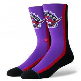 M545B19RAP_Chaussettes NBA Toronto Raptors Stance Arena HWC Warmup Violet