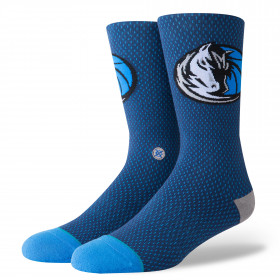 M545D17MAV_Chaussettes NBA Dallas Mavericks Stance Arena Jersey Bleu