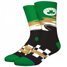 M548C19CEL_Chaussette NBA Boston Celtics Stance Arena Wave Racer Vert