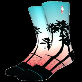 M558D19LAP_Chaussettes NBA Stance Arena Logoman Palms Blanc