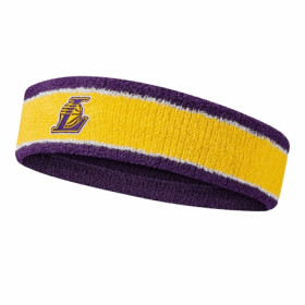 N1000535747OS-747_Bandeau de tête Nike NBA Los Angeles Lakers Jaune