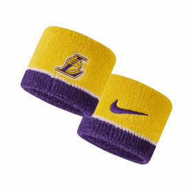 N1000536747OS-747_Bandeau poignet Nike NBA  Los Angeles Lakers Jaune