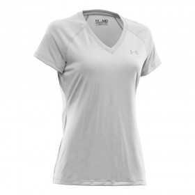 Under Armour Tech SS T-shirt Femme Noir