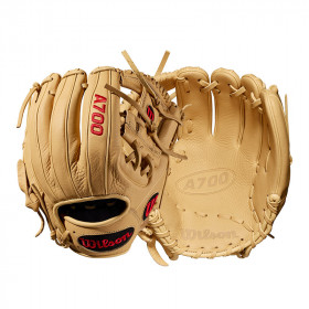 WTA07RB19115_Gant de Baseball Wilson A700 11.5 Crème