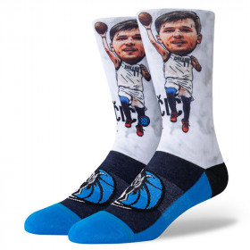 A548A20LBH_Chaussettes NBA Luca Doncic Stance Arena Big Head Blanc
