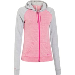 Under Armour CC Ultimateveste zippé Rose femme