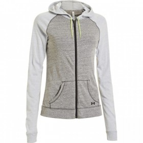 Under Armour CC Ultimateveste zippé gris femme