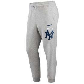 N80406GNKBSC_Pantalon MLB New York Yankees Nike Color Bar Club Fleece Gris pour homme