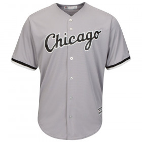7700-WS-ERJ-ROAD_Maillot MLB Chicago White Sox Replica Road Cool Base Gris Pour Homme