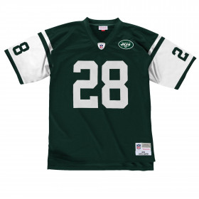 LGJYCP18104-NYJDKN04CMR_Maillot NFL Curtis Martin New York Jets 2004 Mitchell & Ness Legacy Retro Vert pour Homme