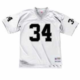 LGJYAC18036-LAIWHIT88BJA_Maillot NFL Bo Jackson Los Angeles Raiders 1988 Mitchell & Ness Legacy Retro Blanc pour Homme