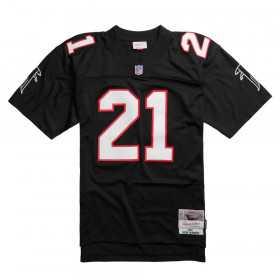LGJYCP18051-AFABLCK92DSA_Maillot NFL Deion Sanders Atlanta Falcons Mitchell & Ness Legacy Retro Noir pour Homme